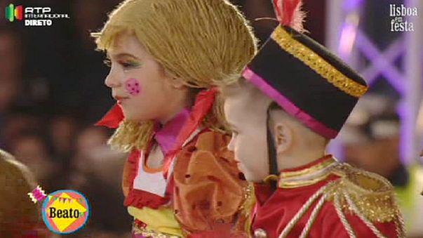 Лиссабон отметил день св. Антония традиционным шествием и гуляньями