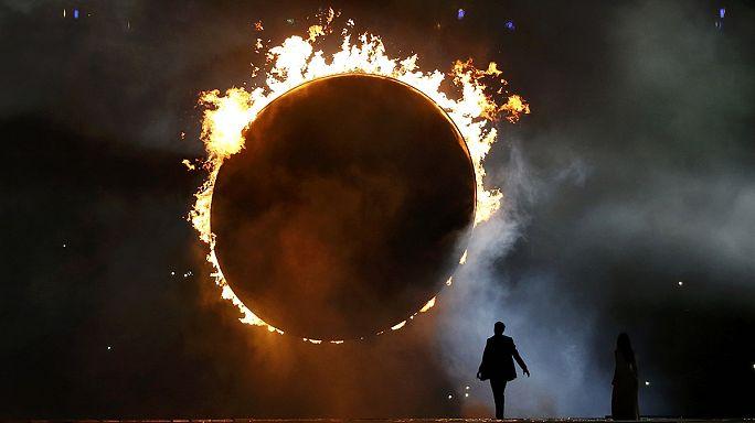 Tűzijáték, Lady Gaga, Putyin és kitiltott jogvédők: Bakuban megkezdődött az első Európai Játékok