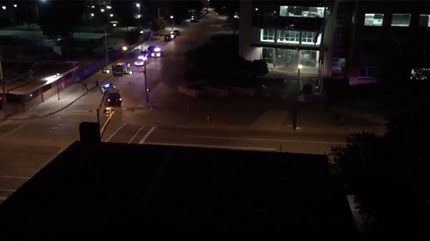 Gunmen attack police station in Dallas, Texas