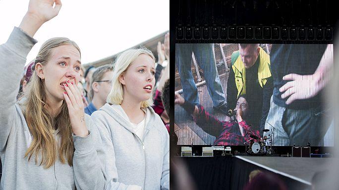 Rocksänger Grohl bricht sich Bein bei Konzert – und spielt weiter