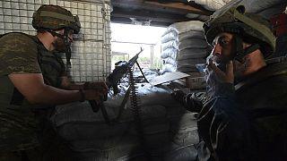 Ukrayna'da şiddetli çatışmalar can aldı
