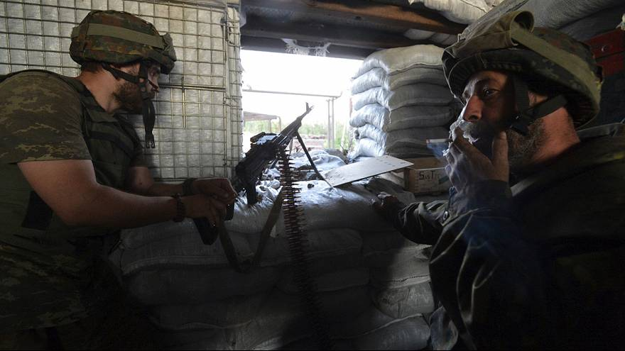 Trotz Waffenruhe: Heftige Gefechte im Donbas