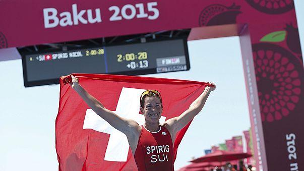 Gold für Jolanda Neff in Baku