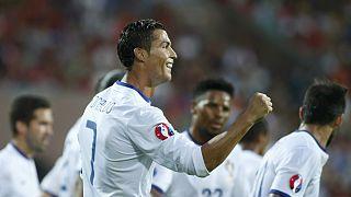 Qualificação Euro2016: Portugal vence (3-2) na Arménia e Ronaldo chega aos 55 golos