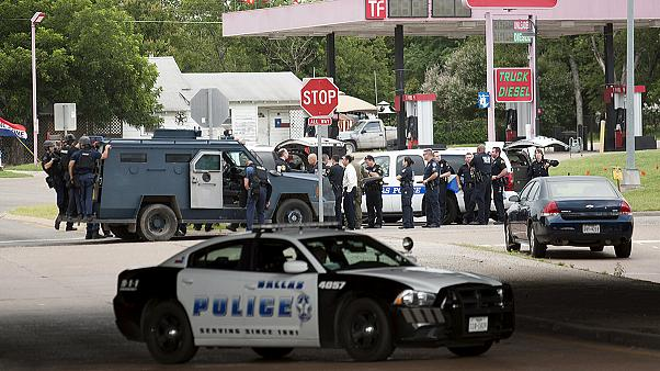 Dallas police HQ shooting: suspect killed during standoff