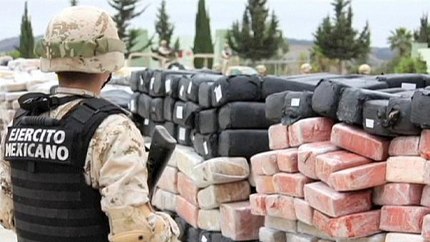Mexico finds 42 ton stash of marijuana