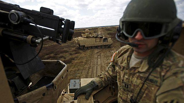 Пентагон собирается разместить танки на границе с Россией