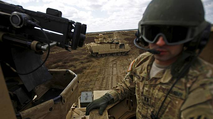 Estados Unidos planeiam enviar tropas para os países bálticos e leste da Europa