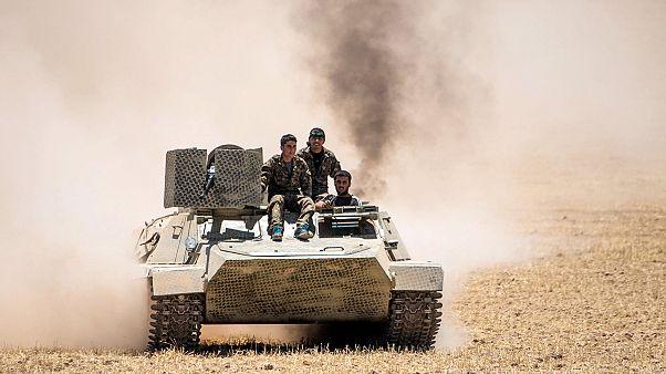 Los kurdos ganan terreno al grupo EI en el norte de Siria