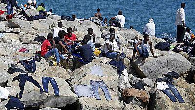 Centenares de inmigrantes bloqueados en Italia por el cierre de las fronteras de los Estados vecinos
