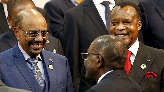 Le président soudanais Omar el-Béchir en déplacement en Afrique du Sud