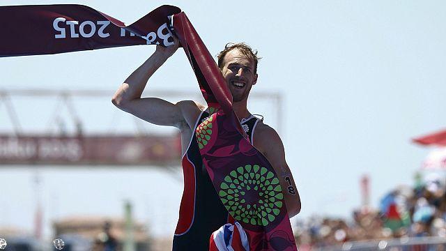 Европейские игры: Бенсон выиграл триатлонную комбинацию