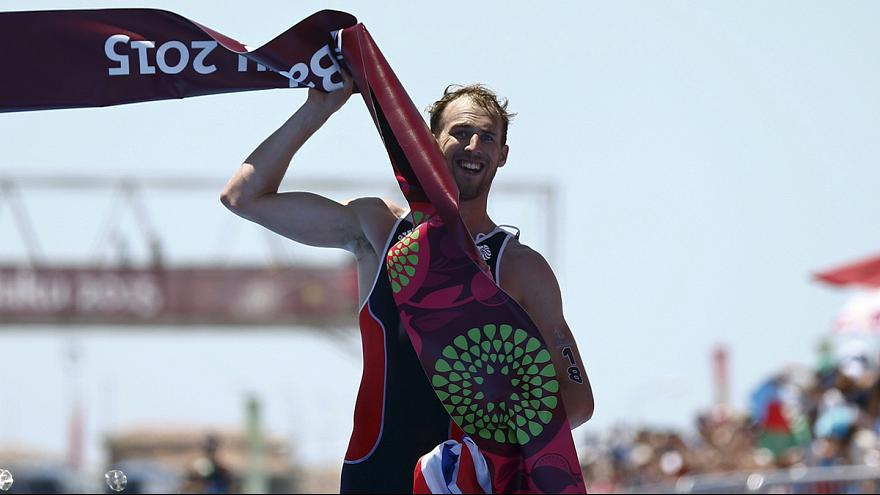 Benson claims first gold for Britain in Baku