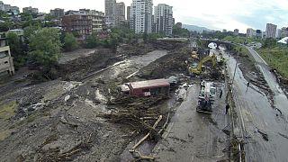 Las inundaciones en Tiflis dejan al menos 12 muertos y 24 desaparecidos