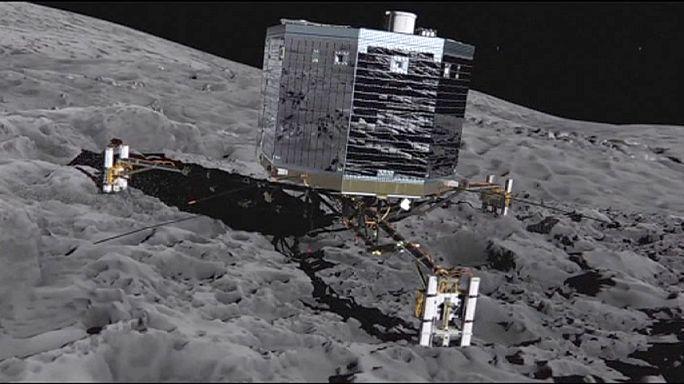 Siker az űrkutatásban - felébredt a Philae leszállóegység