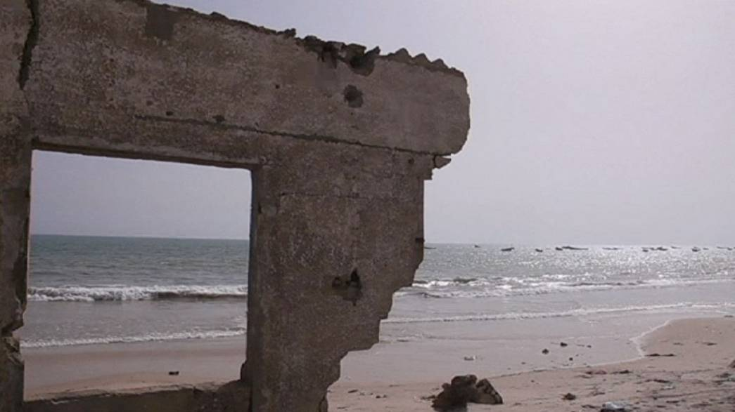 Climate change, erosion and the disappearance of Senegal's coast