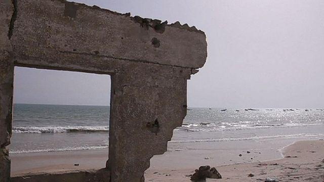 Drámai fejlemények a szenegáli tengerparton - klímaváltozás