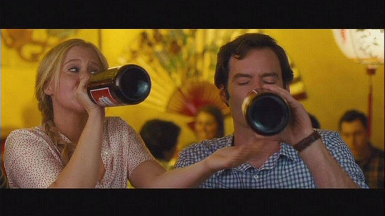 Amy Schumer komedi filmi Trainwreck ile sahnede