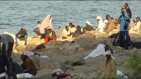 Des dizaines de migrants toujours présents à la frontière franco-italienne