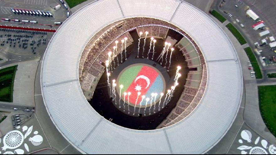 Comienzan los Juegos Europeos en Baku