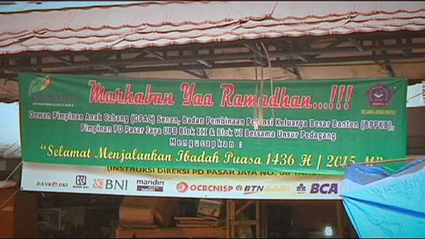 Endonezya'da Ramazan telaşı