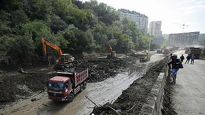 Search continues for 24 missing people after fatal Tbilisi floods