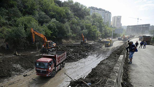 Journée de deuil national en Géorgie après les inondations de Tbilissi