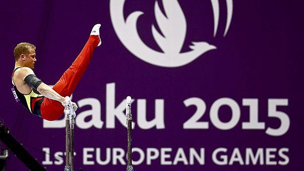 Alemanes y rusas dominan sobre las aguas en los Juegos Europeos Bakú 2015