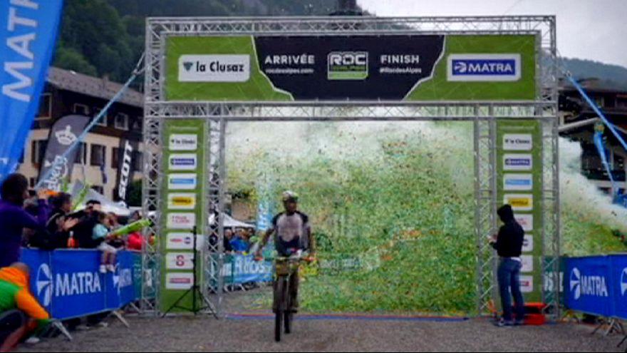 """Sascha Weber y Hélène Marcouyre son los """"reyes"""" de las cimas alpinas"""