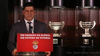 "Benfica apresenta Rui Vitória: ""Prometo dar a vida por este clube"""
