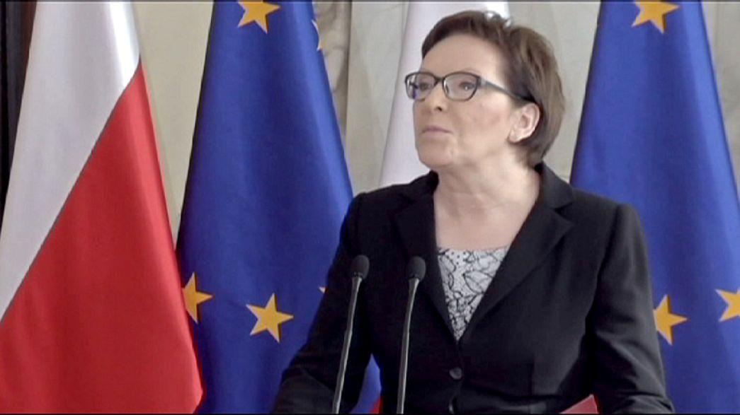 Ministros sem experiência política para o governo polaco