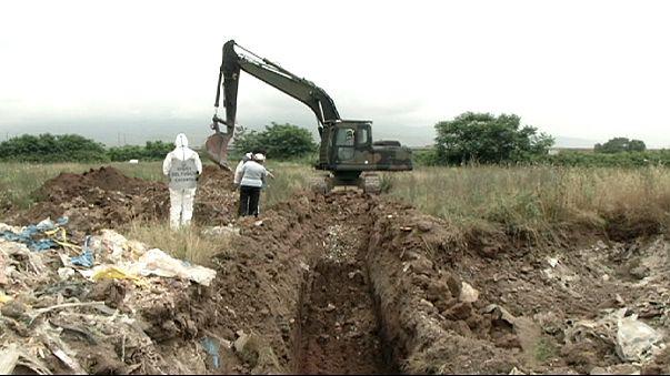 Dombok nőttek veszélyes hulladékból az illegális szeméttelepen