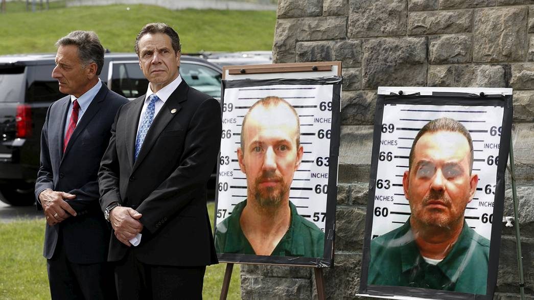 EUA: Continua a caça a dois foragidos de prisão de alta segurança