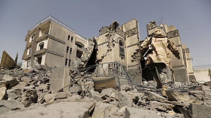 Йемен. Жертвами бомбардировок становятся жители Саны