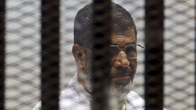 Egypt's Mursi sentenced to life in prison for conspiring with foreign groups