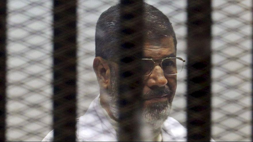 قضية التخابر: الإعدام للشاطر والمؤبد لمرسي