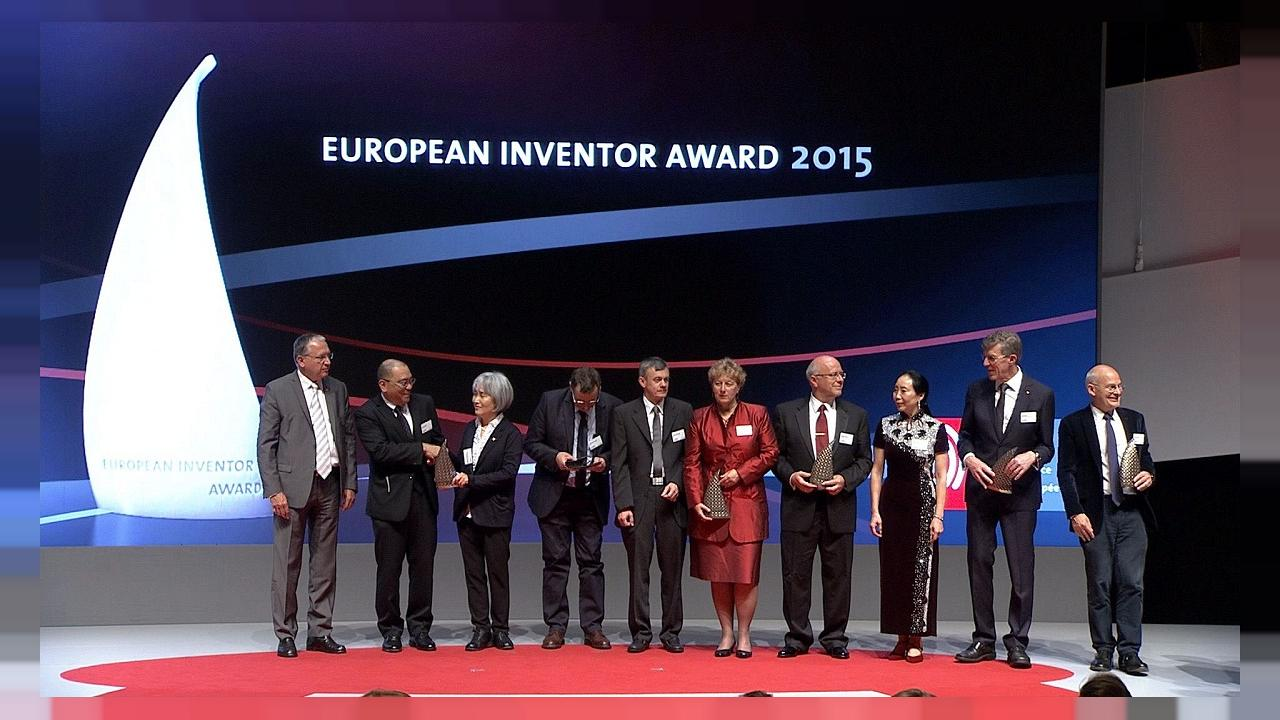 Os vencedores do Prémio Europeu do Inventor 2015