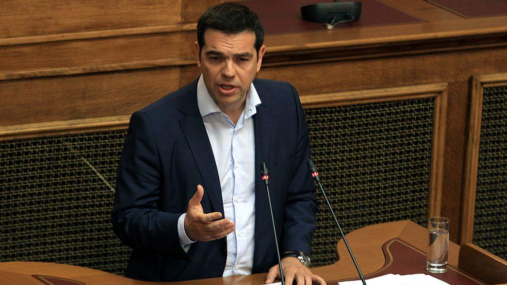 """Tsipras:""""Finito il tempo dell'austerità. Sì a un accordo solidale"""""""