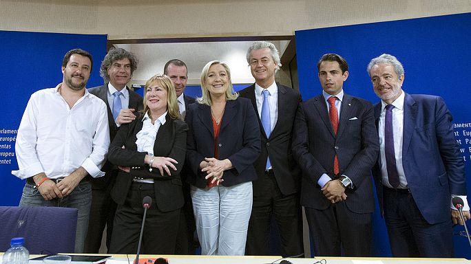 اليمينيون المتطرفون ينجحون بتشكيل مجموعة نيابية في البرلمان الاوروبي