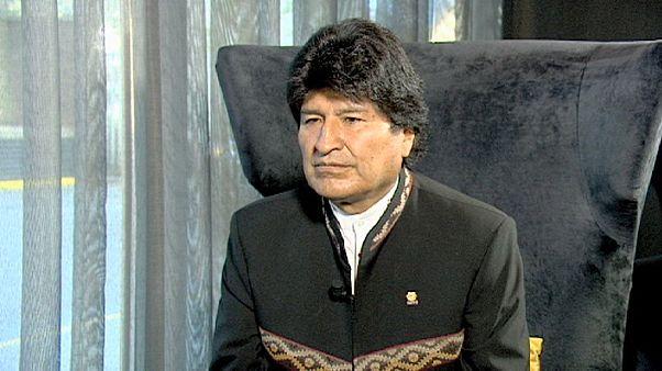 """Bolivya lideri Morales:""""AB bazı konularda bize şantaj yapıyor"""""""