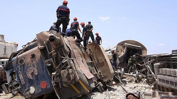 Train and truck in fatal collision in El Fhas, Tunisia