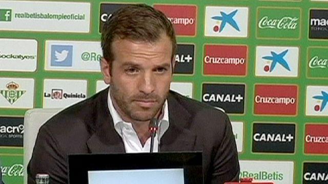 Van der Vaart completes Real Betis move