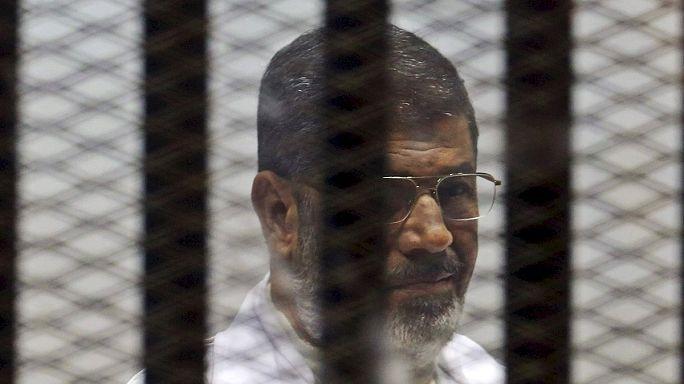 Peine de mort confirmée pour l'ex-président égyptien Mohamed Morsi