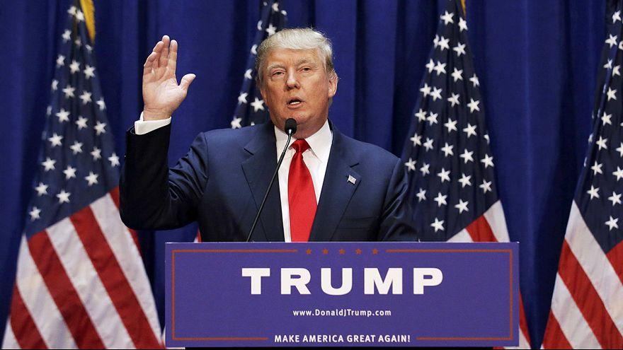 رجل الأعمال الأمريكي دونالد ترامب يعلن ترشحه لسباق البيت الأبيض