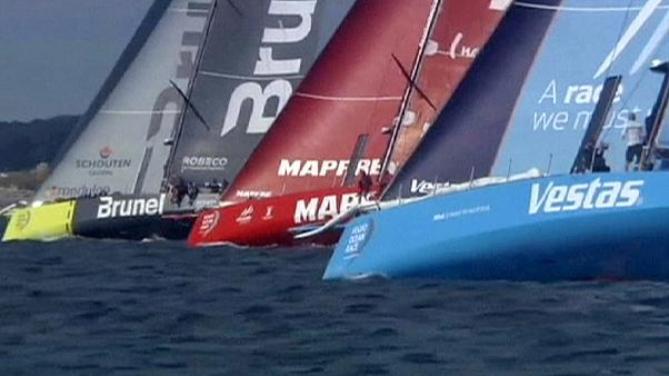Volvo Ocean Race: Crews set sail in final leg