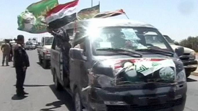 Iraqi refugees return home to Tikrit