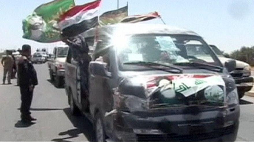 Iraki menekültek tértek haza Tikritbe