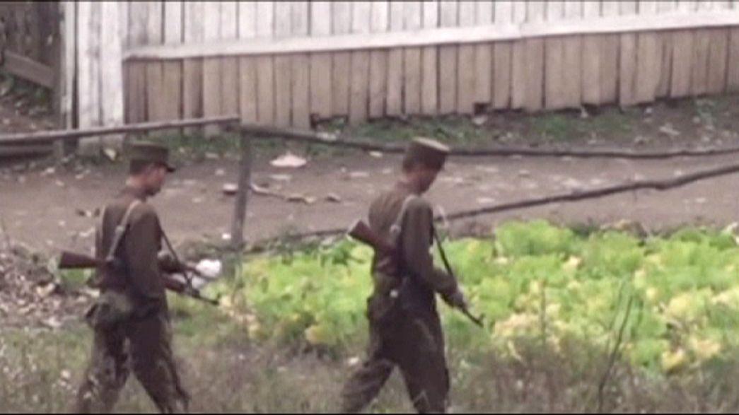 Un soldado norcoreano deserta a pie a través de la Zona Desmilitarizada
