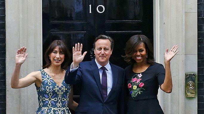 """Michelle Obama en Europe pour """"laisser les filles apprendre"""""""