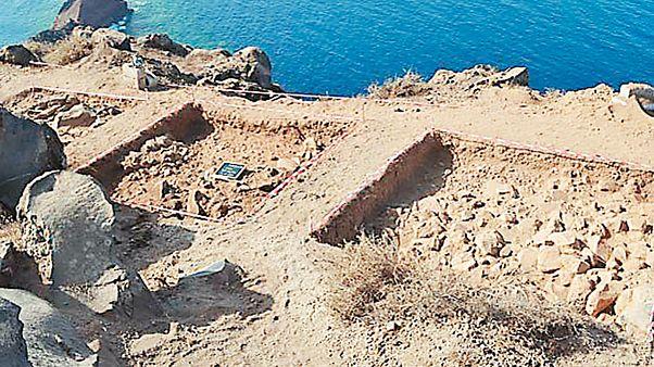 Βρέθηκαν σπάνιοι αρχαίοι θησαυροί στην Θηρασιά